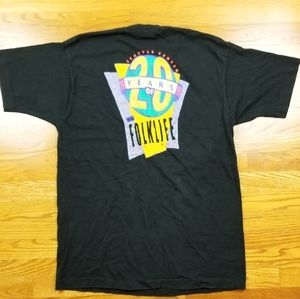 VTG 90's Seattle Folk Life Festival Staff T Shirt